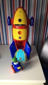 Toy rocket with sounds