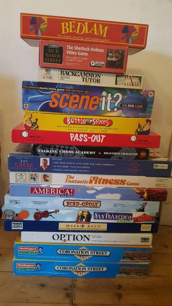 Joblot of board games