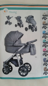 pushchair, stroller and car seat