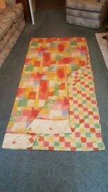 Reversible double quilt cover - unusual size