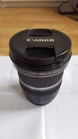 Canon EF-S 10-22mm f/3.5-4.5 USM Lens perfect condition