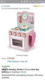 Le toy van honeybake oven brand new