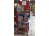 Shop Shelving 50cm Wide
