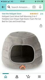 Self heating pet bed NEW