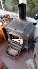 large woodburner