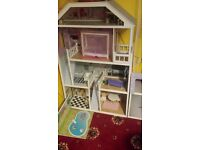 tall house for dolls