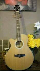 NEVER USED! Left handed Tanglewood Evolution electro-acoustic guitar