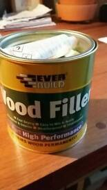 Two pack wood filler
