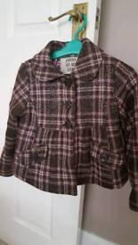 Girls coat age 6-7