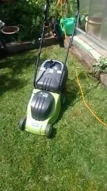 Lawn mower electric v good cutter and condition