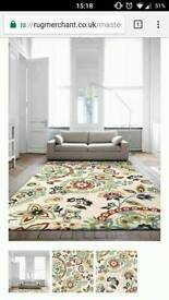 Creame Large rug (nearly new)