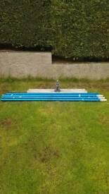 Bull concrete float (Big blue)