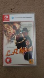 L.A. Noire - Nintendo Switch - Immaculate Condition - Good as New