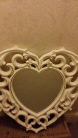Gorgeous heart mirror