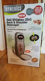 homedics gel shiatsu 2-in-1 back & shoulder