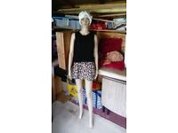 Female Mannequin - Detachable arms/legs Excellent Condition