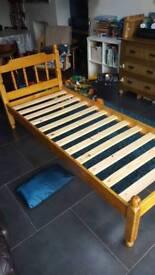 Childs bed frame