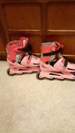 Child's roller blades size 13 to 3