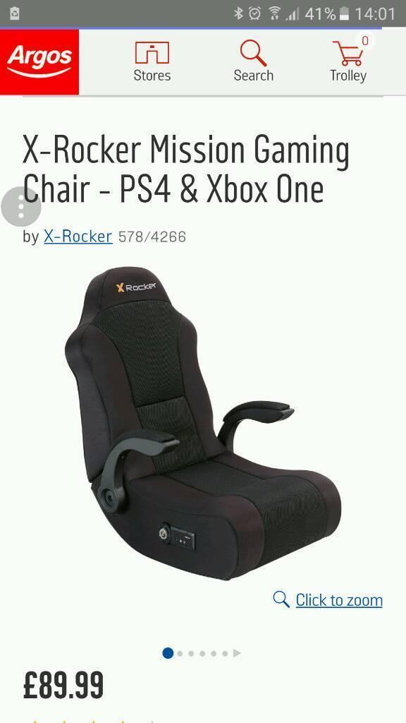 massage chair argos. x-rocker mission gaming chair massage argos