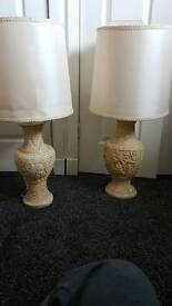 2 large lamps