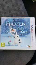 Frozen: Olaf's Quest. Nintendo 3DS