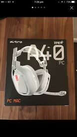 ASTRO A40 TR Headset White - Boxed