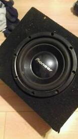 Pioneer subwoofer. CHEAP