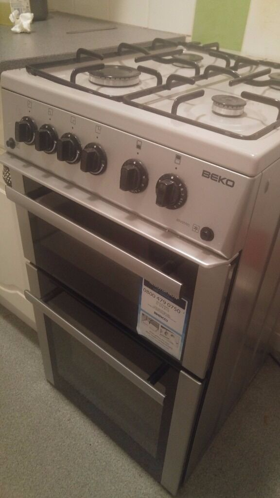 Beko BDVG592S SI Gas Cooker in Silver with gas hobin Camberwell, LondonGumtree - Beko BDVG592S SI Gas Cooker in Silver 2.5 years old Collection Only Key Features Efficient A /A energy rating Main gas oven is great for traditional cooking Second gas oven has a handy grill setting Grease proof enamel coating makes oven cleaning...
