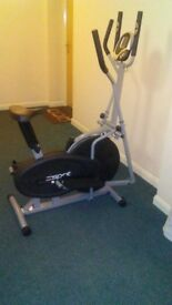 Cross trainer/ exercise bike