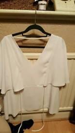 White top size 16