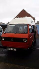 VW T3\25 Camper van high-top
