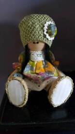 Handmade doll, home decor