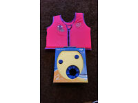 Sea Squad Float Vest (Pink) & Zoggs Float Discs