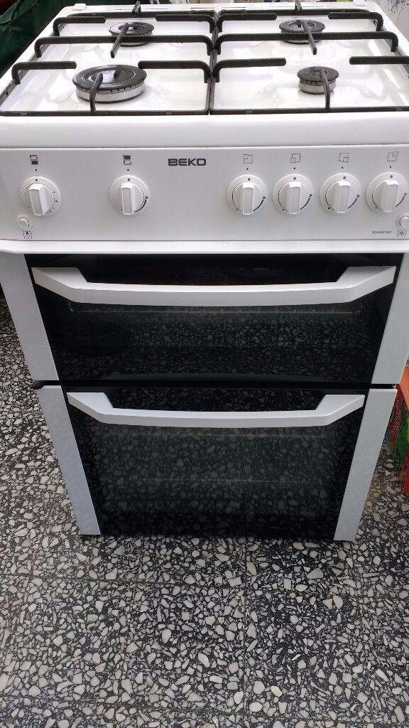 Gas cooker Beko freestanding 60cm wide