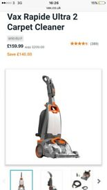 Brand new vax hoover rapide ultra 2