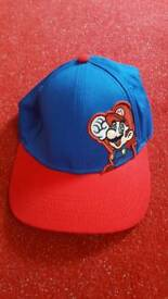 Super mario base ball cap hat brand new from next