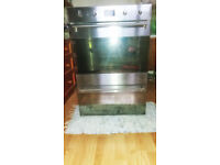 USED Smeg DOSP38X Classic Multifunction Electric Built-in Double Oven ONO