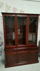 Lovely solid unit all lights up in fantastic condition can arrange delivery 07808222995