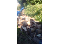 WOOD BURNER LOGS/MIXED/AGES/SIZES/WEIGHTS. JOB LOT.COLLECTION ONLY
