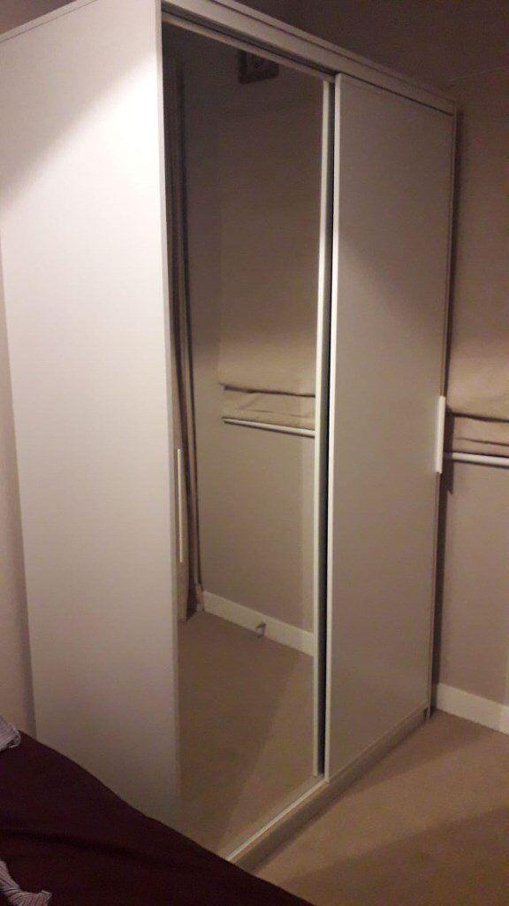 Large Ikea Pax Wardrobe For Sale Full Length Mirror