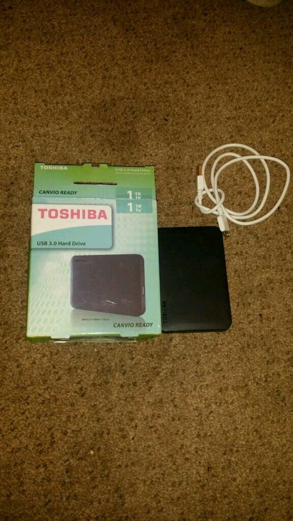Toshiba external drive