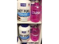 Protein water jugs diet fuel usn