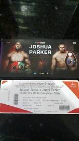 1 bedroom flat available for Joshua vs Parker with 2 tickets