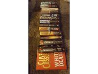 14 clive cussler books