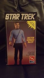 "Star Trek Doctor Leonard McCoy Figure. Special Collector's Edition Series. 12"" tall vinyl figure."