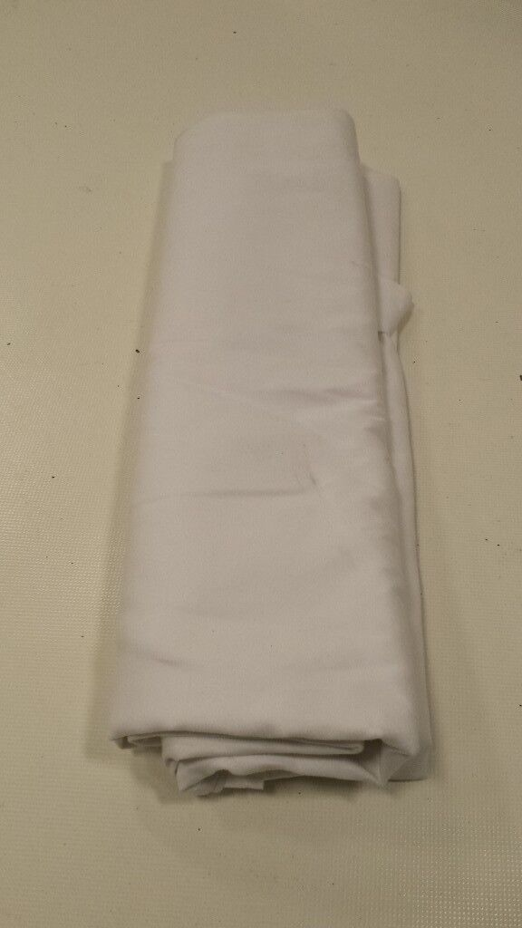 White Damask Table Cloth
