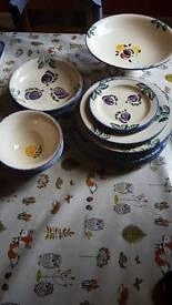 Poole Pottery Dorset Fruits Lot