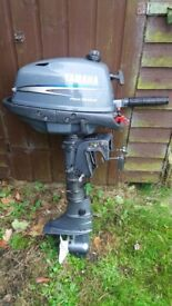 Yamaha 4stroke 4hp outboard engine, only used in fresh water on norfolk broads with low useage.
