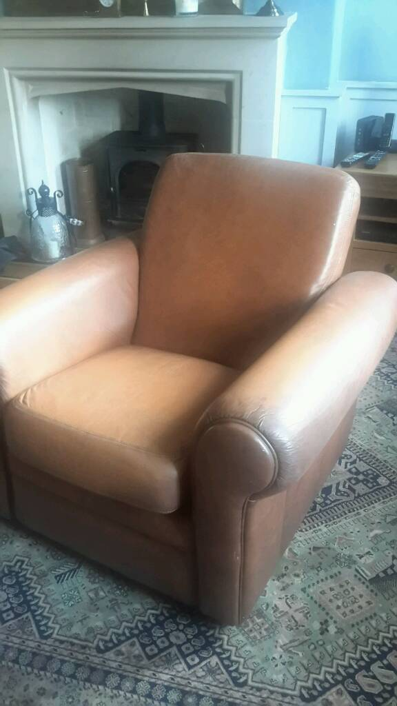 Leather armchair free to good home
