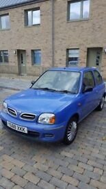 Nissa Micra in very good condition & 1 Year M.O.T